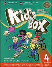 KIDS BOX LEVEL 4 STUDENTS BOOK AMERICAN ENGLISH - SECOND EDITION WITH ONLINE RESOURCES