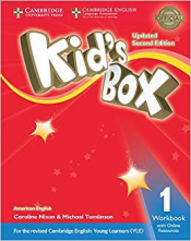 KIDS BOX LEVEL 1 WORKBOOK WITH ONLINE RESOURCES AMERICAN ENGLISH - SECOND EDITION