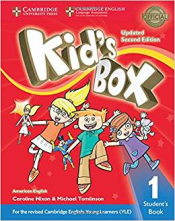 KIDS BOX LEVEL 1STUDENTS BOOK AMERICAN ENGLISH- SECOND EDITION WITH ONLINE RESOURCES