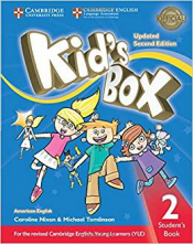 KIDS BOX LEVEL 2 STUDENTS BOOK AMERICAN ENGLISH - SECOND EDITION WITH ONLINE RESOURCES