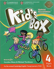 KIDS BOX LEVEL 4 PUPILS BOOK BRITISH ENGLISH