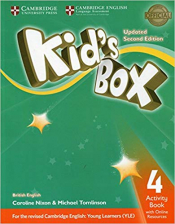 KIDS BOX LEVEL 4 ACTIVITY BOOK WITH ONLINE RESOURCES BRITISH ENGLISH
