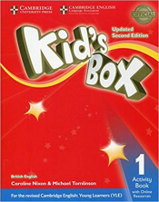 KIDS BOX LEVEL 1 ACTIVITY BOOK WITH ONLINE RESOURCES BRITISH ENGLISH