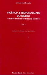 VIGENCIA E TEMPORALIDADE DO DIREITO - 2 VOLS.