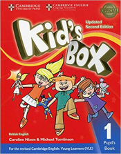 KIDS BOX LEVEL 1 PUPILS BOOK BRITISH ENGLISH