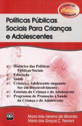 POLITICAS PUBLICAS SOCIAIS PARA CRIANCAS E ADOLESCENTES - CURSO DE ENFERMAG - 1