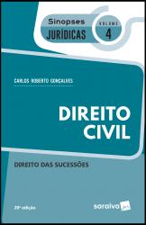 SINOPSES JURÍDICAS: DIREITO CIVIL - 20ª EDIÇÃO DE 2019 - Vol. 4