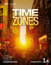 TIME ZONES 1A COMBO SPLIT - 2ND ED