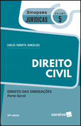SINOPSES JURÍDICAS: DIREITO CIVIL: PARTE GERAL - 19ª EDIÇÃO DE 2019 - Vol. 5
