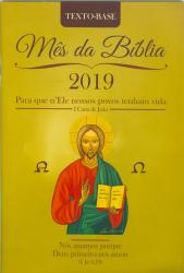 MÊS DA BÍBLIA 2019 - TEXTO BASE