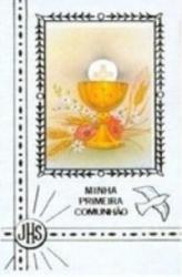 MINHA 1A COMUNHÃO ILUSTRADA - CÁLICE
