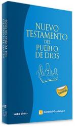 NUEVO TESTAMENTO DEL PUEBLO DE DIOS - EDICIÓN COMENTADA - RÚSTICA AZUL IMPRESIÓN UNA TINTA