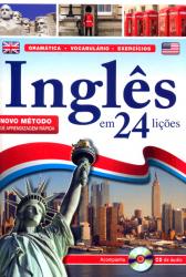 INGLÊS EM 24 LIÇÕES - ACOMPANHA CD