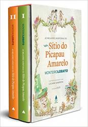 BOX AS MELHORES AVENTURAS DO SÍTIO DO PICAPAU AMARELO