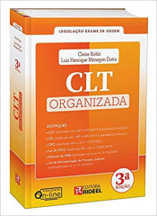 CLT ORGANIZADA - COLEÇÃO EXAME DE ORDEM