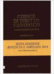 CODICE DI DIRITTO CANONICO COMMENTATO E LEGGI COMPLEMENTARI 6° ED. AMPLIATA 2018