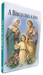 BÍBLIA DIA A DIA 2020 - CAPA CRISTAL - SAGRADA FAMÍLIA
