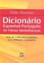 DICIONARIO ESPANHOL PORTUGUES DE FALSAS SEMELHANCAS