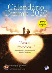 CALENDÁRIO DO DÍZIMO 2020 - MODELO 2(FORMATO ECONÔMICO)