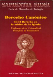 DERECHO CANONICO II - EL DERECHO EN LA MISION DE LA...