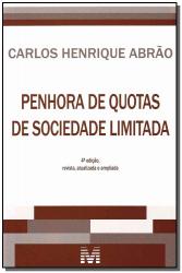 PENHORA DE QUOTAS DE SOCIEDADE LIMITADA - 4 ED./2013