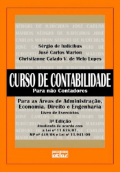 CURSO DE CONTABILIDADE PARA NÃO CONTADORES - EXERCÍCIOS
