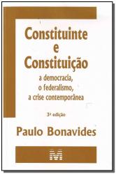 CONSTITUINTE E CONSTITUIÇÃO - 3 ED./2010