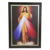 QUADRO JESUS MISERICORDIOSO 50 X 70