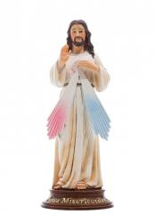IMAGEM JESUS MISERICORDIOSO 15CM DE ALTURA