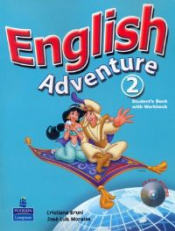 ENGLISH ADVENTURE 2 STUDENT´S BOOK / ACTIVITY BOOK WITH CD-ROM