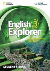 ENGLISH EXPLORER 3 SB WITH MULTIROM - 1ST ED