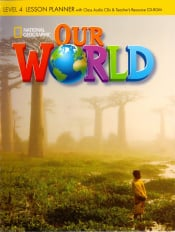 OUR WORLD 4 LESSON PLANNER WITH CLASS AUDIO CD AND TRB CD-ROM - BRITISH