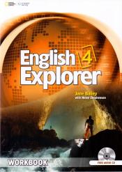 ENGLISH EXPLORER 4 WB WITH WB AUDIO CD - 1ST ED