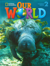 OUR WORLD 2 SB WITH CD-ROM - AMERICAN