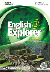 ENGLISH EXPLORER 3 WB WITH CD - 1ST ED