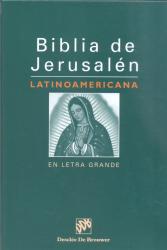 BIBLIA DE JERUSALEM LATINOAMERICANA ENCADERNADA