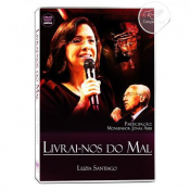 DVD LIVRAI NOS DO MAL DUPLO - LUZIA SANTIAGO AO VIVO