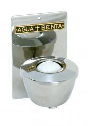 PIA PARA ÁGUA BENTA DE INÓX ALTURA 15CM LARGURA 10CM CAPADIDADE 200ML