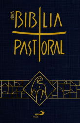 NOVA BÍBLIA PASTORAL - BOLSO CAPA CRISTAL
