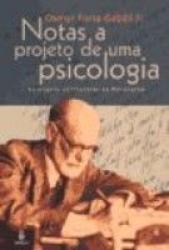 NOTAS A PROJETO DE UMA PSICOLOGIA