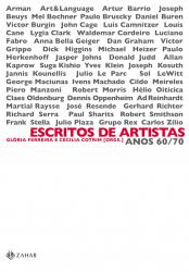 ESCRITOS DE ARTISTAS ANOS 60/70