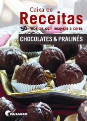 CAIXA DE RECEITAS - CHOCOLATE E PRALINES