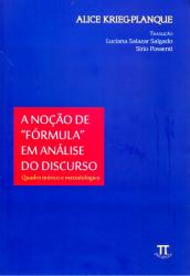 NOCAO DE FORMULA EM ANALISE DO DISCURSO, A