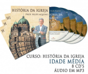CD HISTORIA DA IGREJA - IDADE MEDIA C/ 8 CDS