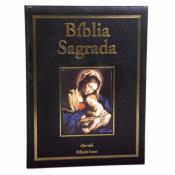 BÍBLIA ILUSTRADA LUXO PAE PRETA COM PORTA BIBLIA VARIOS AUTORES