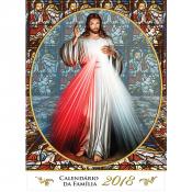 CALENDÁRIO DE PAREDE 2018 - JESUS MISERICORDIOSO