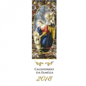 CALENDÁRIO MARCA PÁGINA 2018 - SAGRADA FAMÍLIA