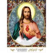 CALENDÁRIO DE PAREDE 2018 - SAGRADO CORAÇÃO DE JESUS