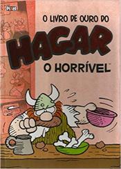 LIVRO DE OURO DO HAGAR O HORRÍVEL