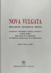 NOVA VULGATA BIBLIORUM SACRORUM EDITIO. EDITIO TYPICA ALTERA CD-ROM